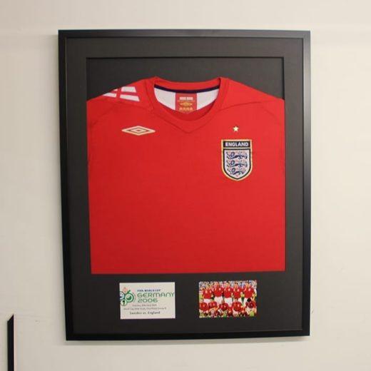 Football Shirt Framing Berkshire